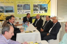 Atkiedk technology opens exhibition buildings Ramallah branch